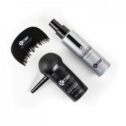 Starter Kit Fibre per Capelli + Fixing Spray